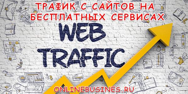 Привлечение трафика — построив сайты (блоги) на бесплатных сервисах для заработка на партнерских программах
